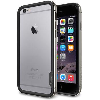 Spigen pouzdro Neo Hybrid EX Metal pro Apple iPhone 6, šedá