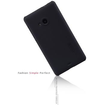 Nillkin super frosted zadní kryt Black pro Nokia Lumia 535