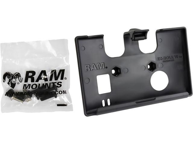 obsah balení RAM Mounts držák na Garmin nuvi 52, 54 do auta na palubní desku se silným samolepícím úchytem, sestava RAP-B-378-GA55U