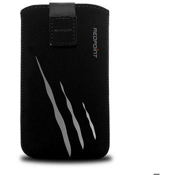 Redpoint pouzdro Velvet s motivem Gray Scratch, velikost 5XL, černá
