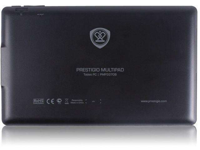 "obsah balení Prestigio Multipad PMP3370B (Ultra), Android 4, 7"" display 800x480, Wi-Fi, 4GB, černá"