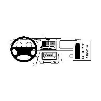 Brodit ProClip montážní konzole pro Suzuki Wagon 98-00, na střed