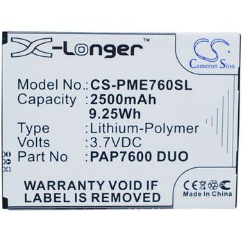 Baterie pro Prestigio MultiPhone 7600 Duo Li-ion 3,7V 2500mAh