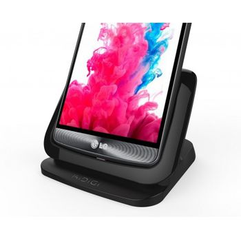 Kidigi dobíjecí a synch kolébka pro LG G3, černá