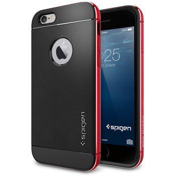 Spigen pouzdro Neo Hybrid Metal pro iPhone 6, červená