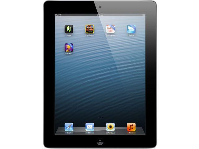 obsah balení Apple iPad s Retina displejem Wi-Fi 32GB černý