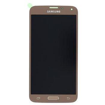 LCD display + Dotyk Samsung G903 Galaxy S5 Neo zlatý