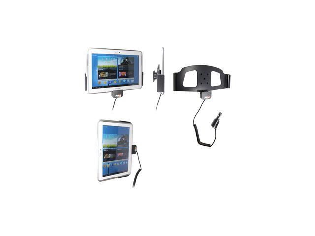 obsah balení Brodit držák do auta pro Samsung Galaxy Note 10.1 s nabíjením + adaptér pro snadné odebrání držáku z proclipu