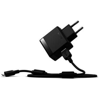 Sony USB nabíječka EP881 + micro USB kabel, černá