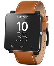 Sony náhradní kožený řemínek pro SmartWatch SW2, světle hnědá