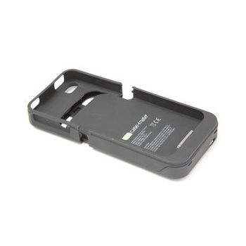 Case Mate pouzdro s baterií Fuel Lite - Gun Metal Gray (Rubber) pro iPhone 4G