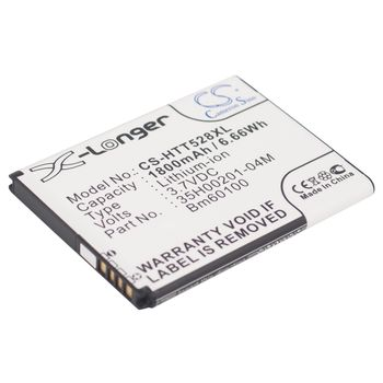 Baterie pro HTC One SV, (BA S890) 1800mAh, Li-ion