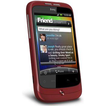 HTC Wildfire Red Cz