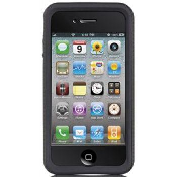 Case Mate pouzdro Tough Hybrid - Black/Black pro iPhone 4G