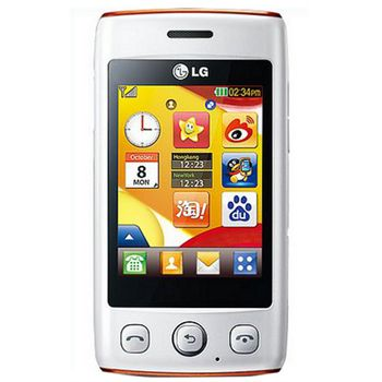 LG T300 Cookie Lite White Orange
