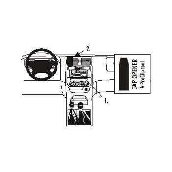 Brodit ProClip montážní konzole pro Nissan Teranno II 00-06