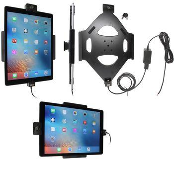 Brodit držák do auta na Apple iPad Pro bez pouzdra, se skrytým nabíjením, se zámkem