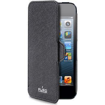 PURO pouzdro BookletSlim pro Apple iPhone 5 - černá