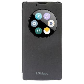 LG flipové pouzdro QuickCircle CCF-605 pro LG Magna, černá