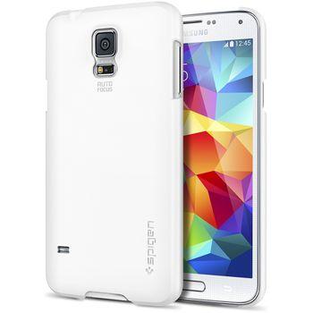 Spigen tenký kryt Ultra Fit Smooth white pro Samsung Galaxy S5, bílá