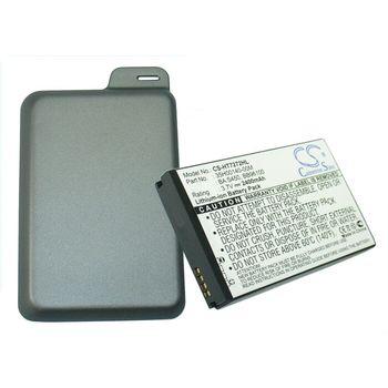 Baterie (ekv. BA-S450) pro HTC Desire Z, rozšířená včetně krytu, Li-Ion 3,7V 2400mAh