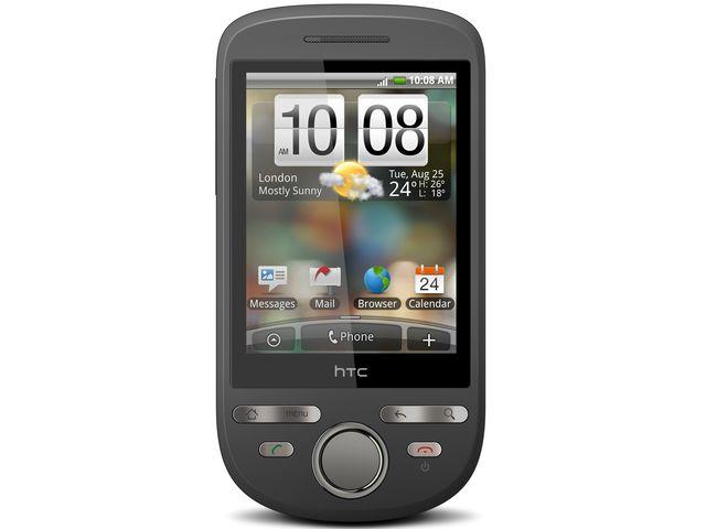 obsah balení HTC Tattoo + Brodit držák s nabíjením CL 12/24V