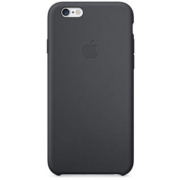 Apple silikonový kryt pro iPhone 6/6S plus, černá