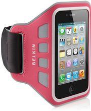 Belkin sportovní pouzdro EaseFit Sport pro Apple iPhone 4/4S na ruku, růžové (F8Z850cwC01)