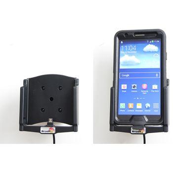Brodit držák do auta pro Samsung Note III v pouzdře Otterbox Defender s nabíjením