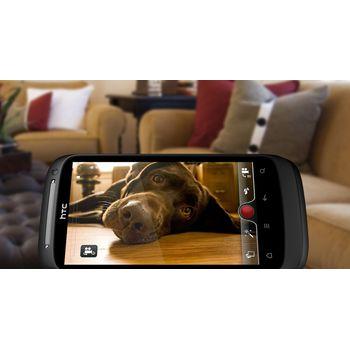 HTC Desire S černá + pouzdro Krusell Hector černé