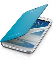 Samsung flipové pouzdro EFC-1J9FB pro Galaxy Note II, modré