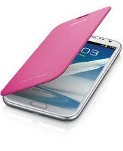Samsung flipové pouzdro EFC-1J9FP pro Galaxy Note II, růžové