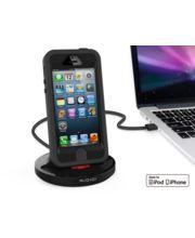 Kidigi dobíjecí a synchronizační kolébka pro Apple iPhone 5/5S/5C a 6/6 plus, černá