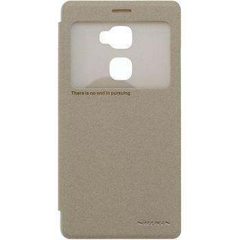 Nillkin flipové pouzdro Sparkle S-View pro Huawei Mate S, zlaté