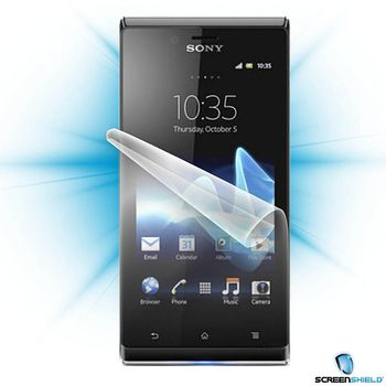 Fólie ScreenShield Sony Xperia J - displej