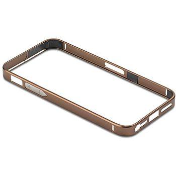 PanzerGlass ochranný hliníkový rámeček pro Apple iPhone 5/5s, hnědý